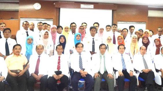 Peserta Ujinas Pulmonologi di Jakarta, 2014